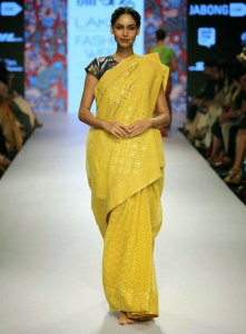Gaurang Shah Casual Bengali Drape