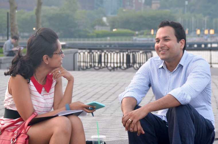 Interviewing Raj